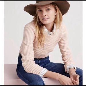EUC Madewell Hexcomb Textured Sweater